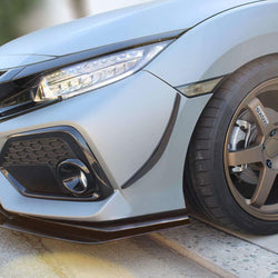 Honda Civic hatchback Splitter 2016-2019 - Aeroflowdynamics