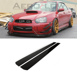 2002 - 2007 Subaru Wrx/Sti Side Skirt Extension V1 - Aeroflowdynamics