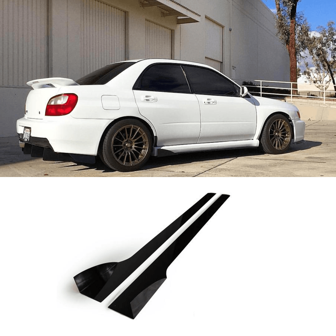 2002 - 2007 Subaru WRX/STI Side Skirt Extension V2