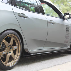 Honda Civic hatchback Side Skirt 2016-2019 - Aeroflowdynamics
