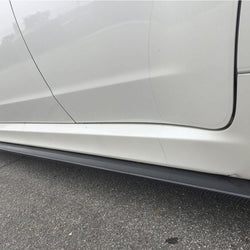 2008 - 2014 Subaru WRX/STI Side Skirt Extension (Carbon Fiber) - Aerflowdyamics