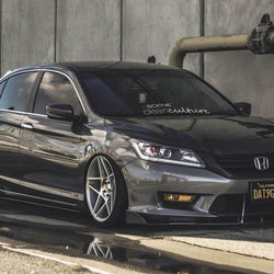 Honda Accord Sedan Splitter 2013-2015 - Aeroflowdynamics