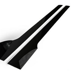 HONDA CIVIC SI SEDAN SIDE SKIRT EXTENSION V2 2012-2015 - Aeroflowdynamics