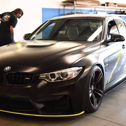 13-18 BMW F80, F82, F32, and F30 M3, M4 SIDE SKIRT V1 - AeroflowDynamics