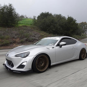 SCION FRS FRONT SPLITTER 2013+