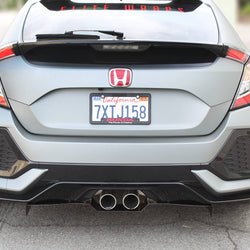 Honda Civic hatchback Diffuser V2 2016+