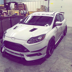 2013-2017 FORD FOCUS ST CANARDS V1