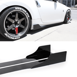 2009-2017 Nissan 370z Side Skirt Extension V3 - Aeroflowdynamics