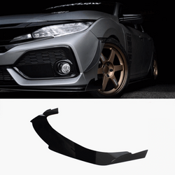 2017-2019 Honda Civic Splitter ([Hatchback, Si Coupe, Si Sedan] ) V3 - Aeroflowdynamics