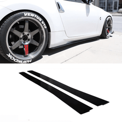 2009-2017 Nissan 370z Side Skirt Extension V1 - Aeroflowdynamics