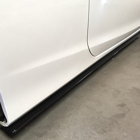 2014-2015 HONDA ACCORD COUPE SIDE SKIRT EXTENSION V1