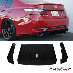 2015-2017 Honda Accord Rear Diffuser V1 ( Sedan ) - Aeroflowdynamics