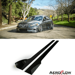 2008-2012 Honda Accord Side Skirt Extension V2 ( Sedan) - Aeroflowdynamics