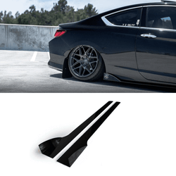 2013-2017 Honda Accord Side Skirt Extension V2 (Coupe) - Aeroflowdynamics