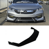 2016-2017 Honda Accord Splitter V2 (Sedan) - Aeroflowdynamics