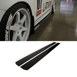 2012-2015 Civic Side Skirt Extension V1 ( Sedan) - Aeroflowdynamics