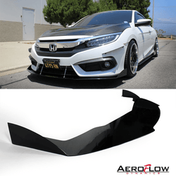 2016-2019 Honda Civic Splitter V2 ( Coupe ) - Aeroflowdynamics