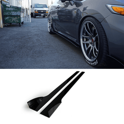 2012-2015 Honda Civic Si Side Skirt Extension V2 (Coupe) - Aeroflowdynamics