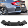 2016-2019 Honda Civic Si Rear Diffuser V1 (Sedan) - Aeroflowdynamics
