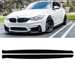 2013-2018 Bmw Side Skirt Extension V1 ( F80, F82, F32, And F30 M3, M4) - Aeroflowdynamics