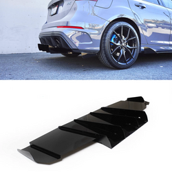 2016-2018 Ford Focus Rs Rear Diffuser V1 - Aeroflowdynamics