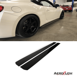 2013 - 2017 Scion Frs/ Subaru Brz Side Skirt Extension V1 - Aeroflowdynamics