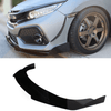 2017-2019 Honda Civic Splitter  ([Hatchback, Si Coupe, Si Sedan] ) V2 - Aeroflowdynamics