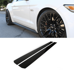 2015-2018 Ford Mustang Side Skirt Extension V1 - Aeroflowdynamics