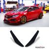 2017-2019 Honda Civic Type R Canards V1 - Aeroflowdynamics