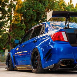 2011 - 2014 Subaru Wrx/Sti Rear Canards (Sedan) - Aeroflowdynamics