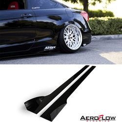 2008-2012 Honda Accord Side Skirt Extension V2 - Aeroflowdynamics