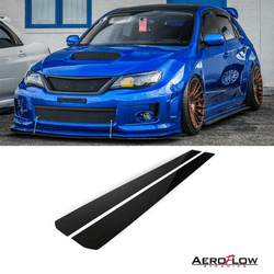 2008 - 2014 Subaru Wrx/Sti Side Skirt Extension V1 (Hatch And Sedan) - Aeroflowdynamics