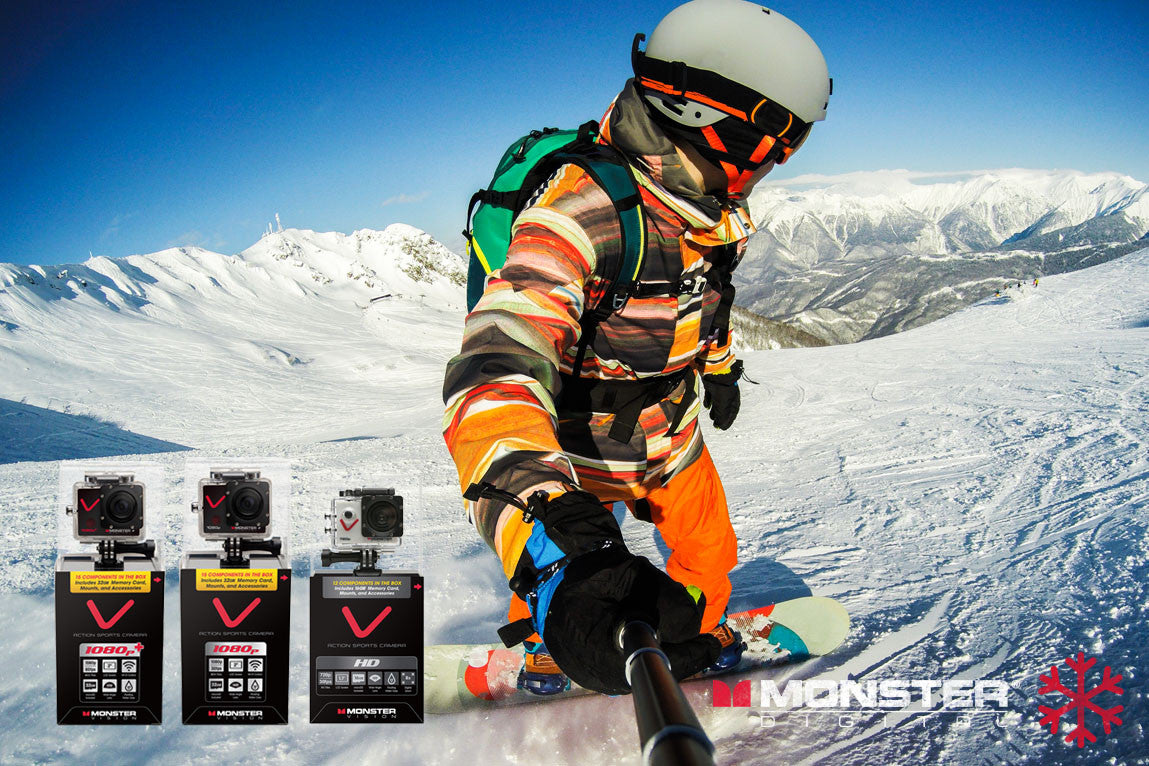 Action Sports Cameras to Capture your Monster Moments