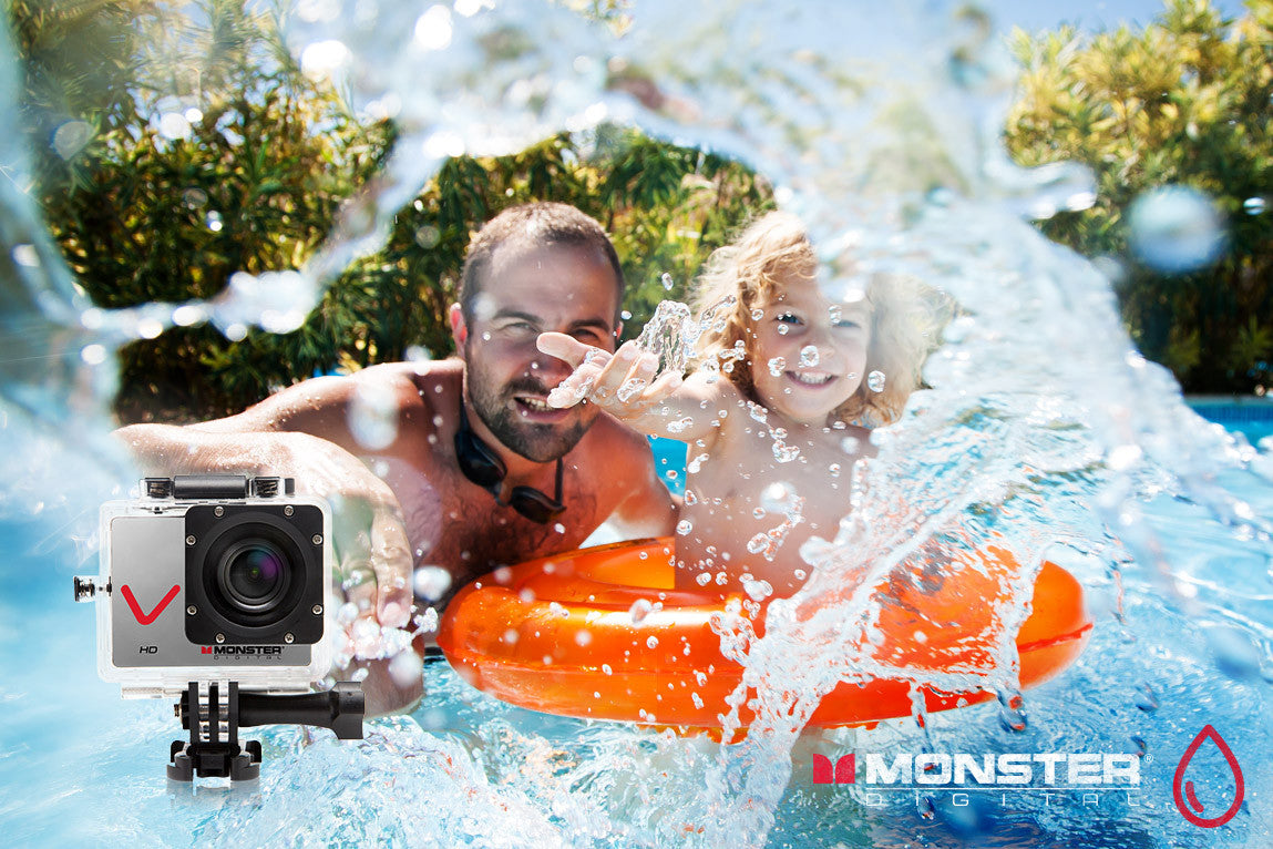 Monster Vision HD Action Sports Camera Spotlight