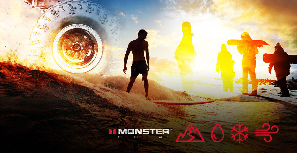 Surf, Sand, Snow: Take Monster Digital