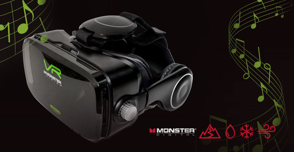 Chris Voss Reviews Monster Digital VR Headset