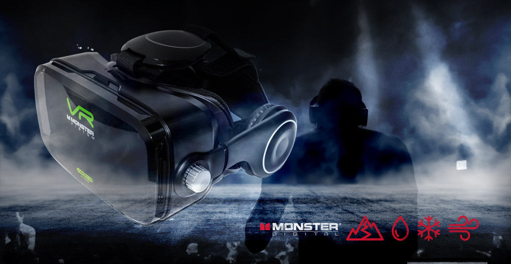Monster Digital Vision VR Headset Spotlight