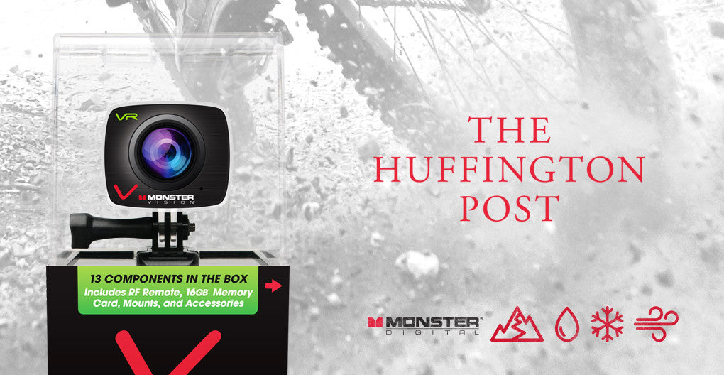 The Huffington Post Features Monster Vision VR