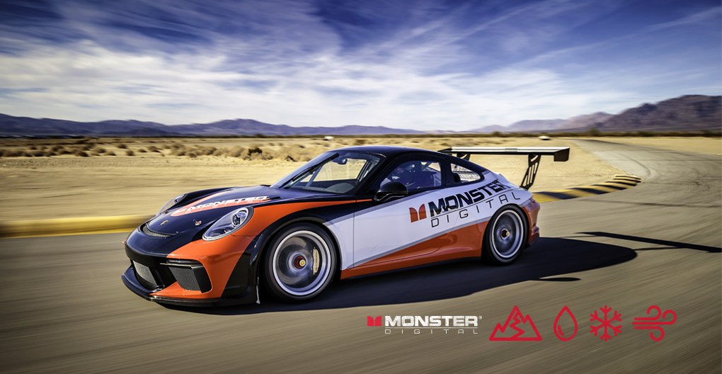 Monster Digital to Sponsor 2017 IMSA Porsche GT3 Cup Car