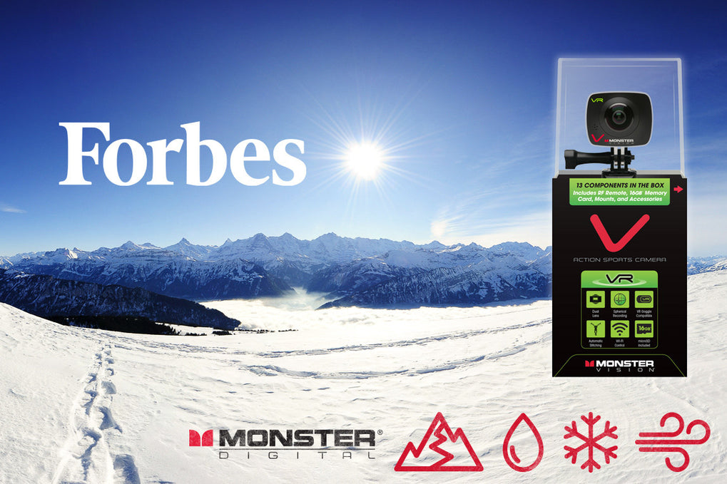 FORBES GIVES MONSTER DIGITAL TWO THUMBS UP