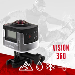 MONSTER DIGITAL® VISION 360 SET - ACTION SPORTS CAMERA SET