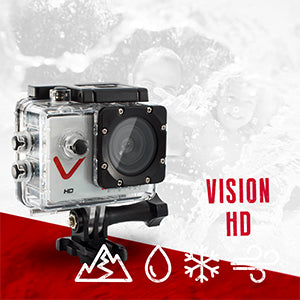 MONSTER DIGITAL® VISION HD SET - SPORTS ACTION CAMERA SET