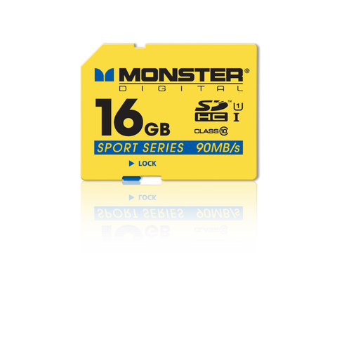 SDHC Full Size SD Memory Card Sport 90 Series