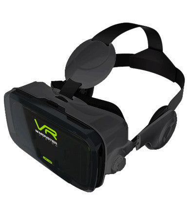 Monster Vision VR Headset with Integrated Headphones