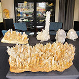 Amazing Colombian Lemurian Clusters
