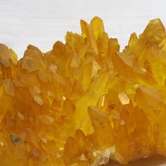 Large High Quality Arkansas Golden Healer Quartz Crystal Cluster