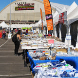 Denver Gem & Mineral Show Tents