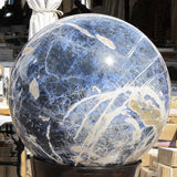Large Polished Sodalite Sphere