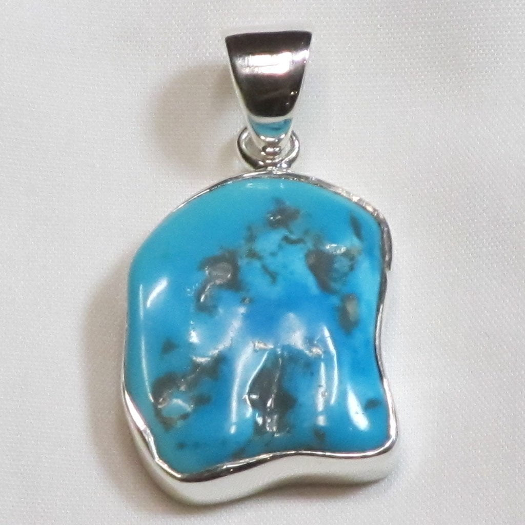 Arizona Turquoise Sterling Silver Pendant Jewelry