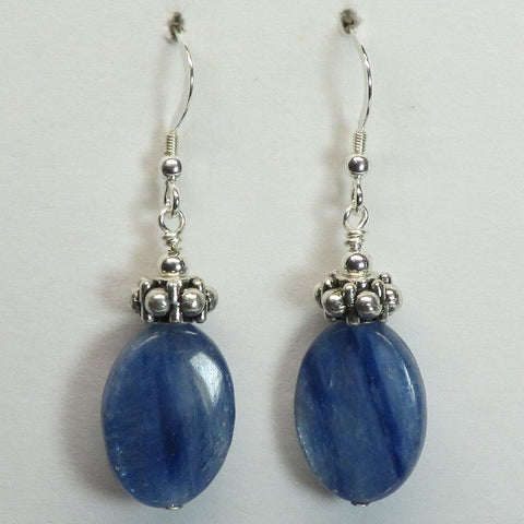 Blue Kyanite Earring Jewelry